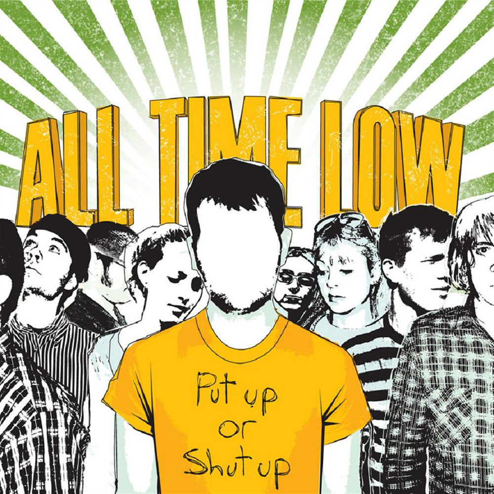 All Time Low Official Merch - Put Up Or Shut Up (CD)