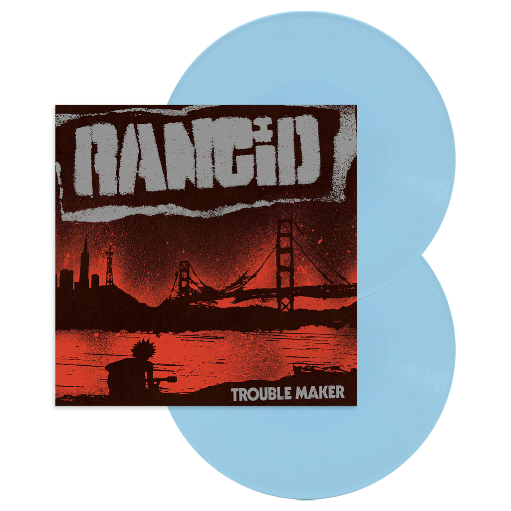 Trouble Maker 2LP Vinyl (Indie Exclusive Baby Blue)