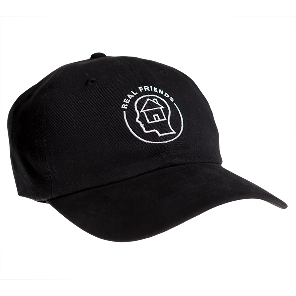 House Head Dad Cap (Black)