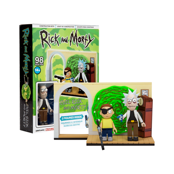 Rick and Morty - Evil Rick & Morty Small Construction Set