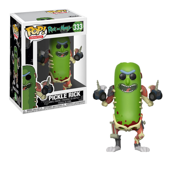 Rick and Morty - Pickle Rick Pop! Vinyl Figure