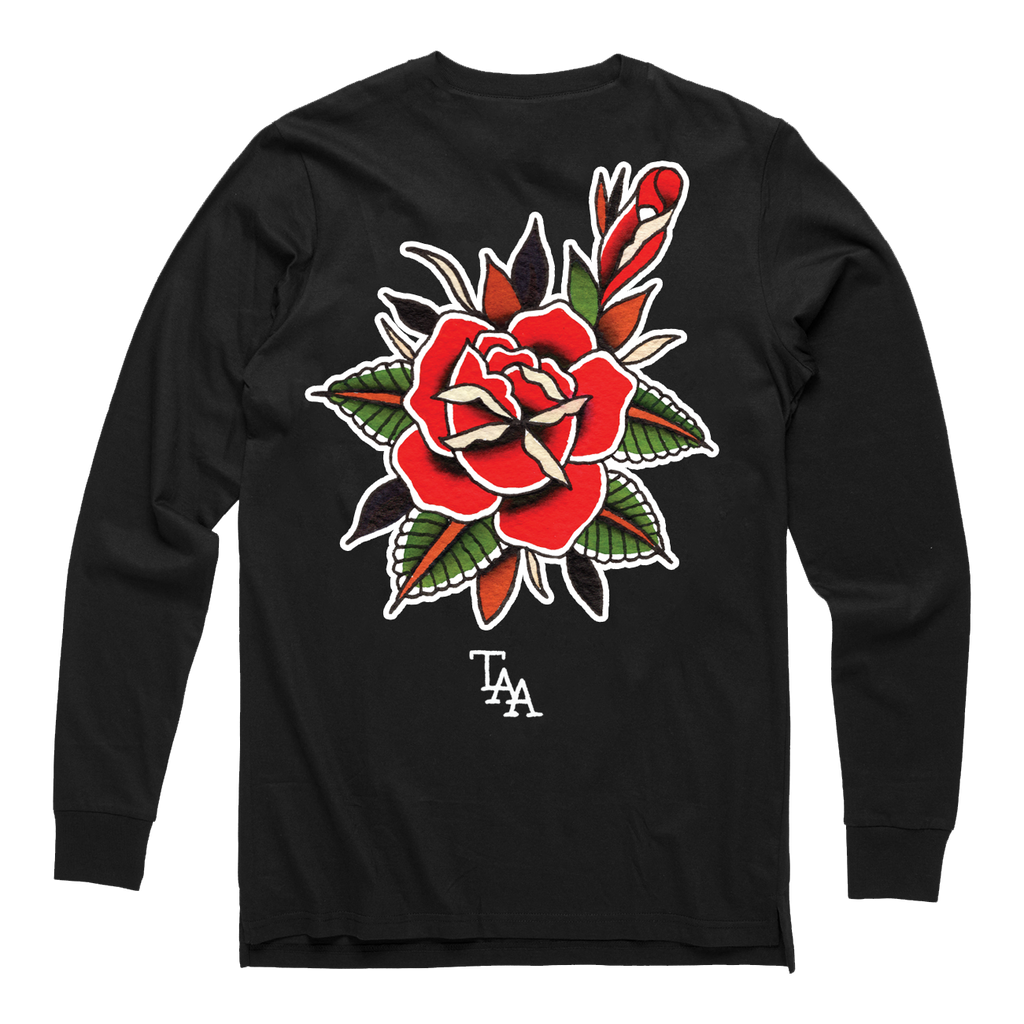 Rose Longsleeve (Black)