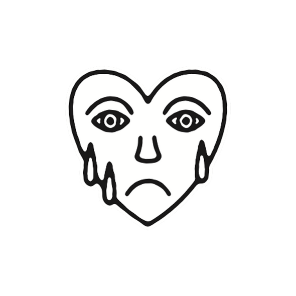 Mark Richardson Official Merch - Sad Heart Patch