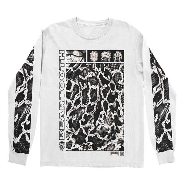 Scales Longsleeve (White) // PREORDER