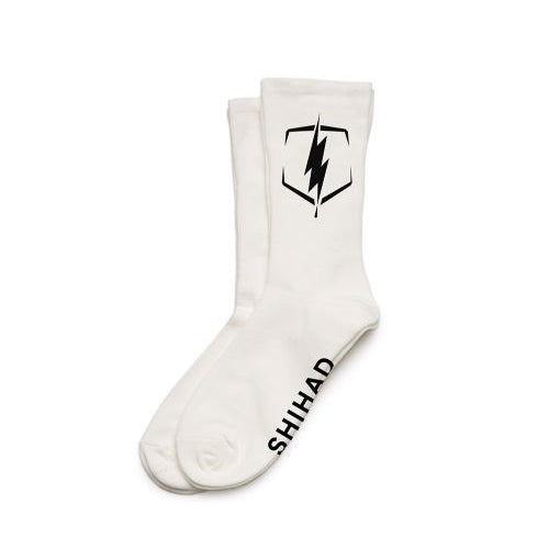 Bolt Socks (White)