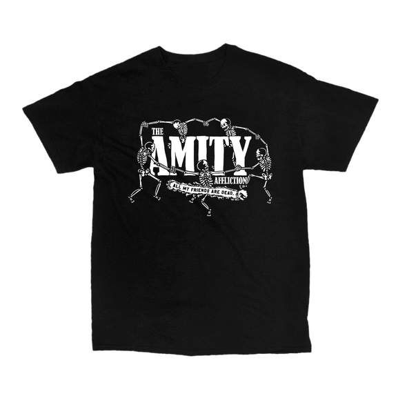AMFAD Skeleton Dance Tee (Black)