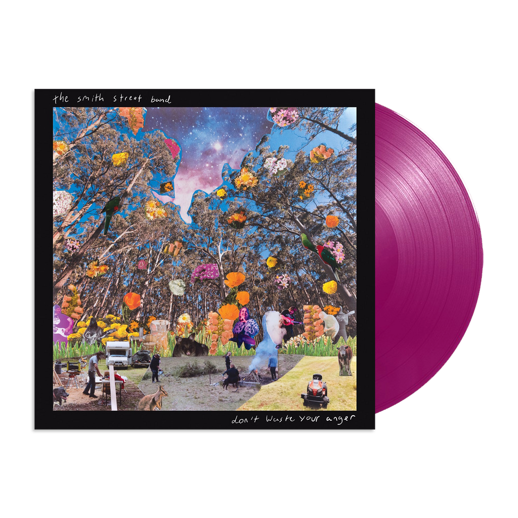 "Don't Waste Your Anger 12"" Vinyl (Indie Exclusive Neon Violet)"