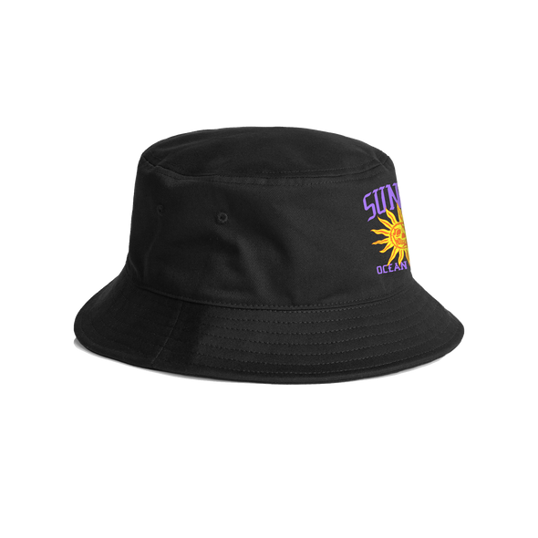 Sunny Bucket Hat (Black)