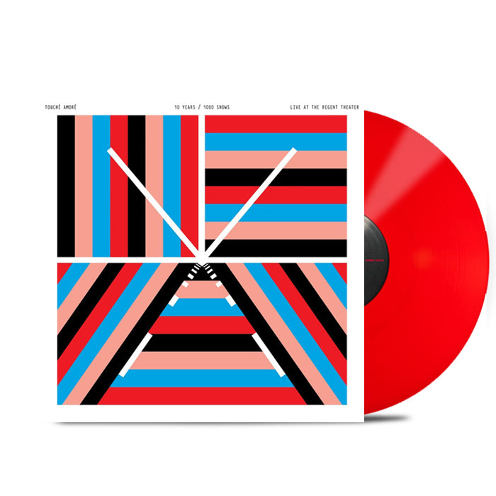 "10 Years / 1000 Shows - Live at The Regent Theater 12"" Vinyl (Indie Exclusive Red)"