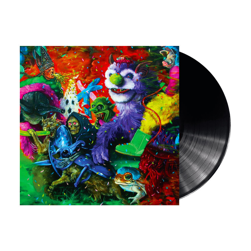 "A Laughing Death In Meatspace 12"" Vinyl (Black)"