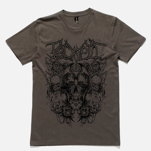 Psycroptic Official Merch - Australian Tour (Charcoal Tee) (406151199)