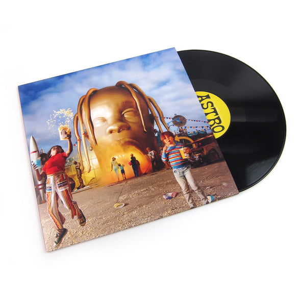 "Astroworld 12"" Vinyl 2LP (Black)"