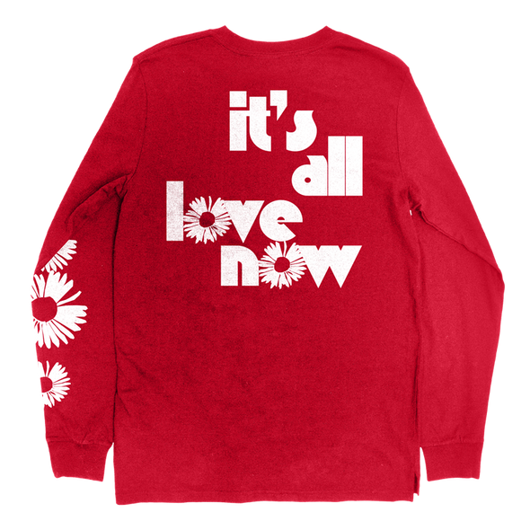 It's All Love Now Longsleeve (Red)