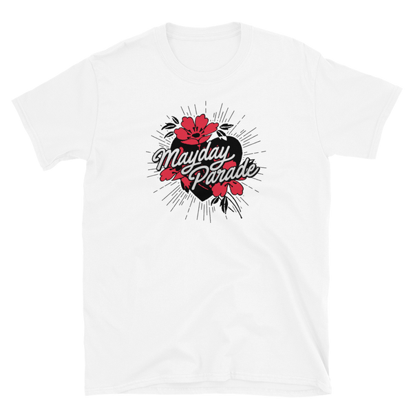 Flower Heart Tee (White)