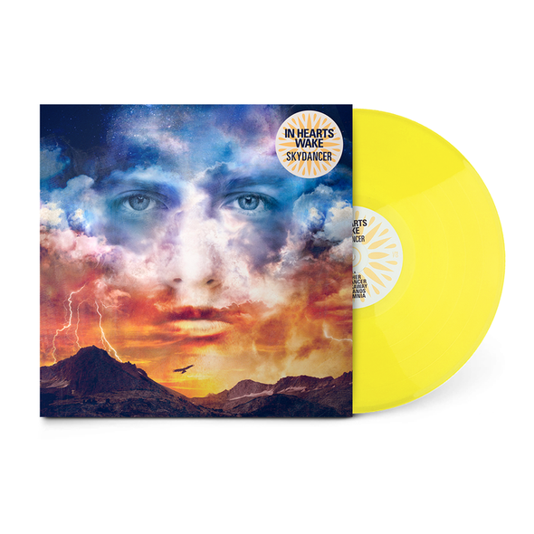 "In Hearts Wake Official Merch - Skydancer 12"" Vinyl (Sunflower Transparent)"