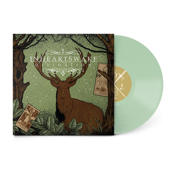 "In Hearts Wake Official Merch - Divination 12"" Vinyl (Mint Green Transparent)"