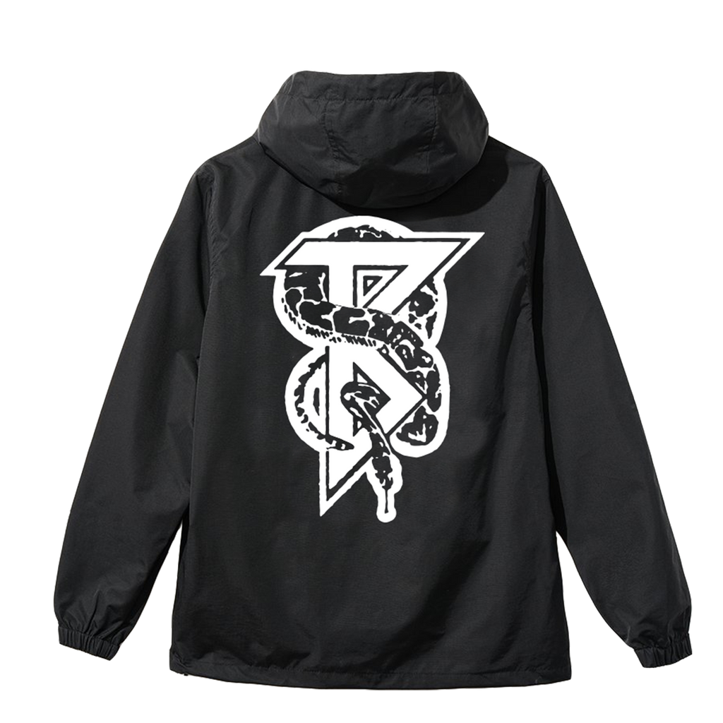 Snake Windbreaker (Black)
