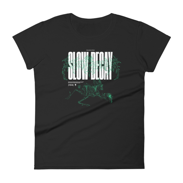 Slow Decay Women's Tee (Black)