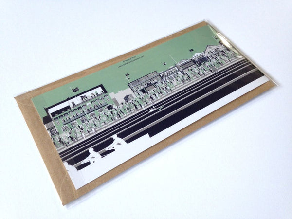 The Boat Race at Putney Greetings Card