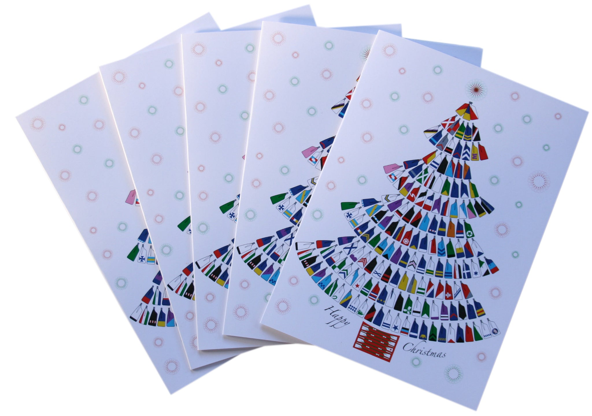 Blades Tree Christmas Cards (Various Pack Sizes)