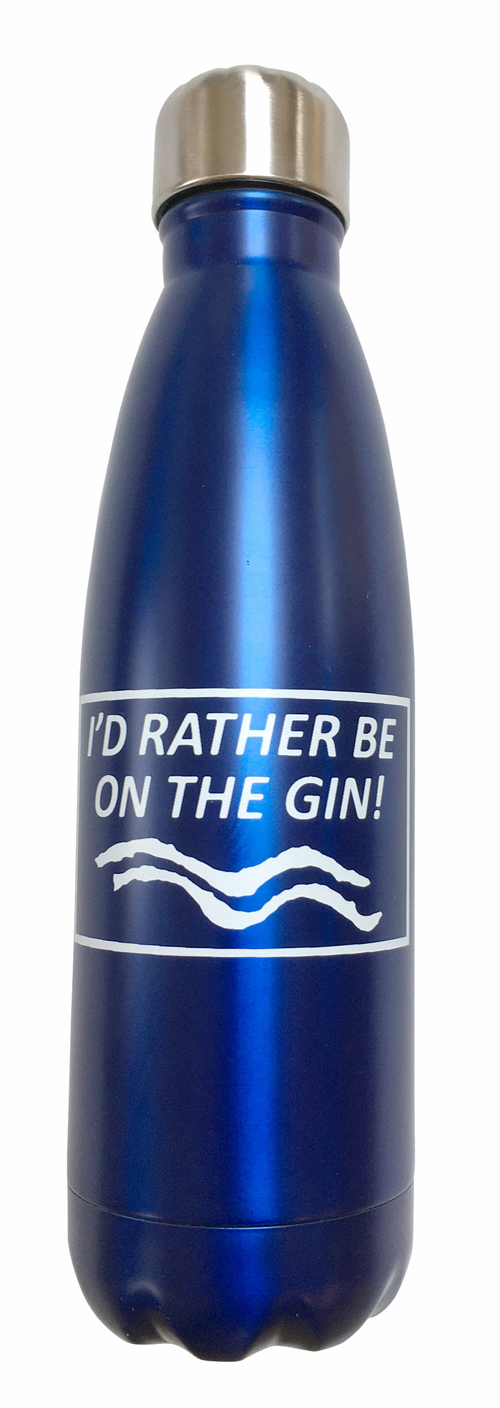 I'd Rather Be On The Gin