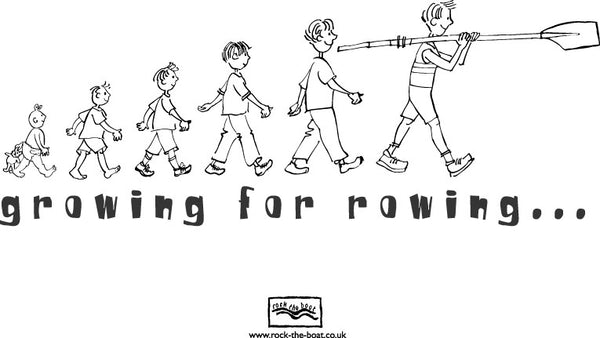 Growing For Rowing Hoodie