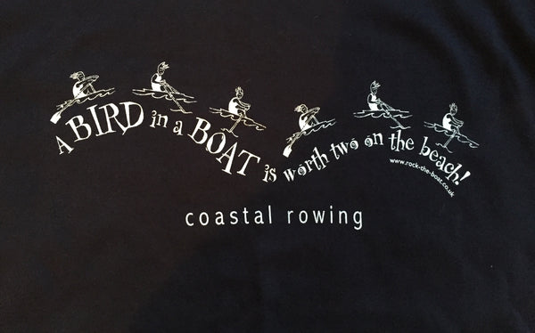 A Bird in a Boat is worth two on the Beach - Coastal Rowing