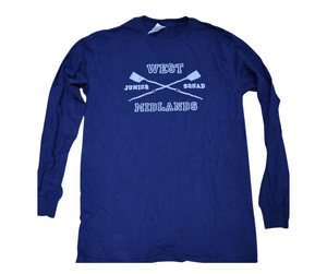 West Midlands Junior Squad Long Sleeved Cotton Tee