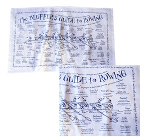 Bluffers Guide to Rowing Tea Towel