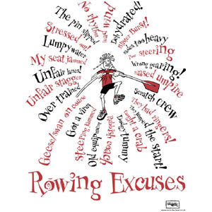 Rowing Excuses