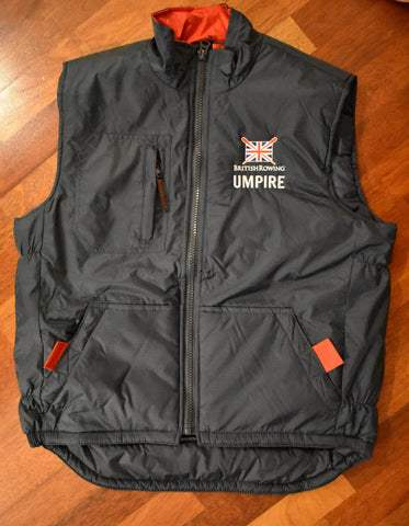 British Rowing Umpire Bodywarmer
