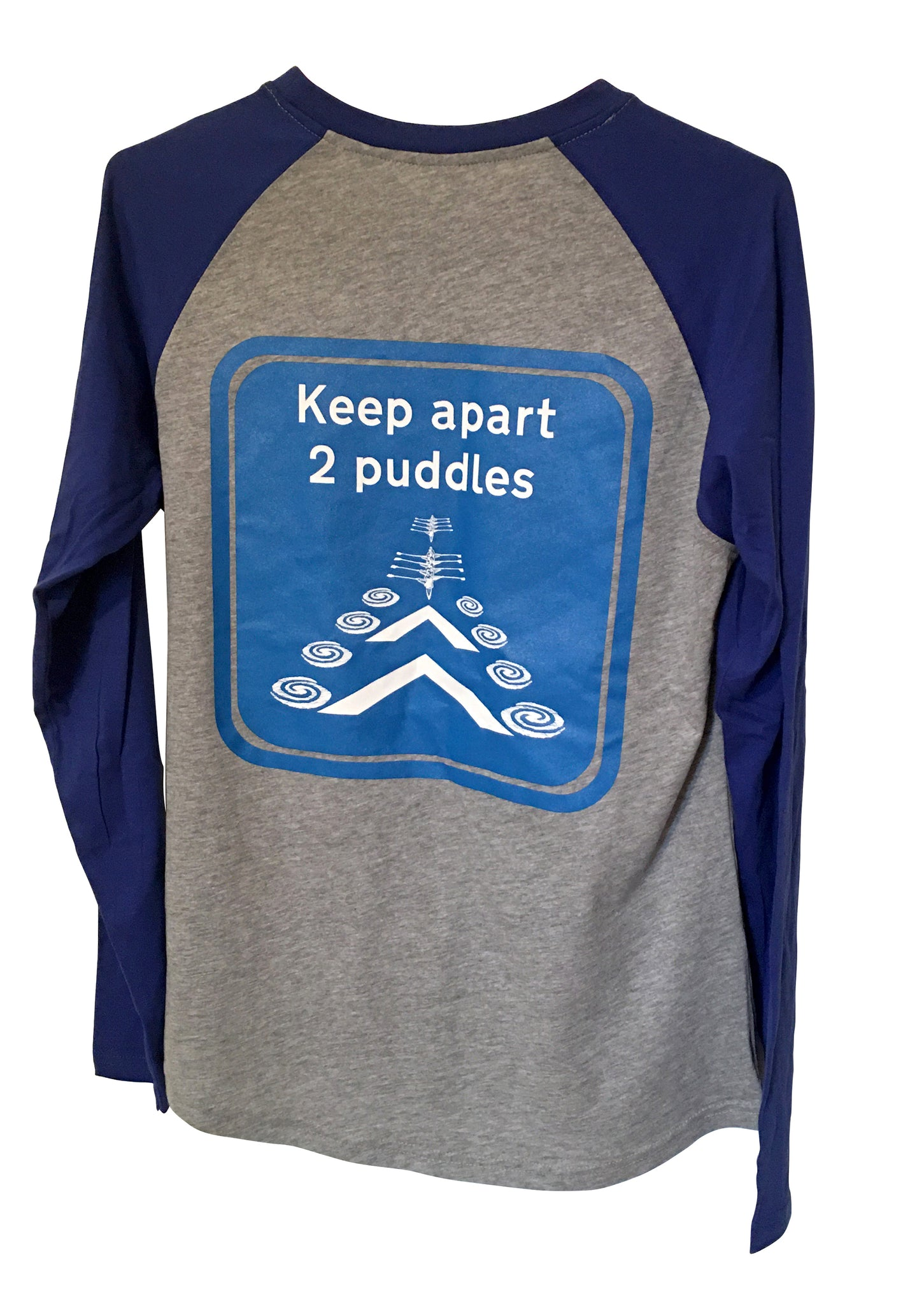 Socially Distanced Puddles - Long Sleeve Tee