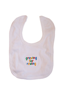 Growing for rowing bib