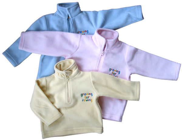 Growing for Rowing Baby Microfleece
