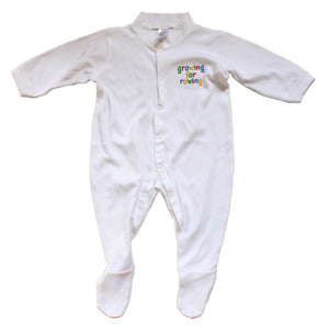 Growing for Rowing sleepsuit