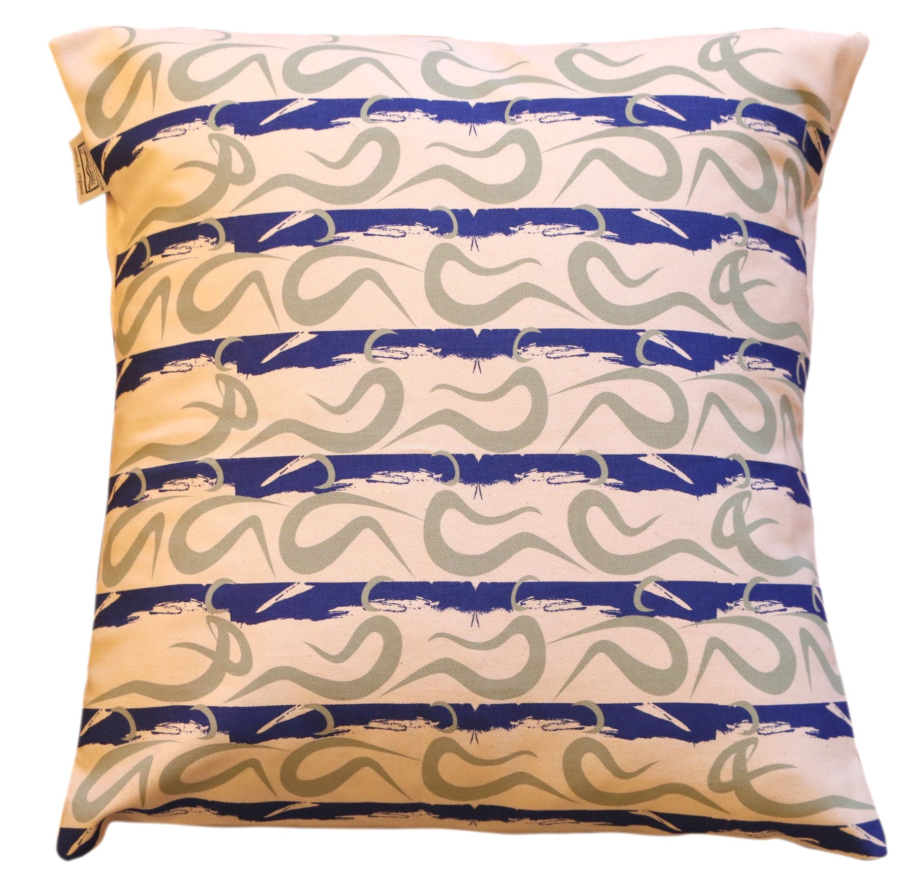 Language of Rowing Cushion Cover