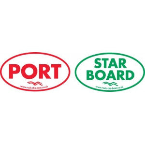 PORT / STARBOARD stickers