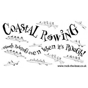 Coastal Rowing car sticker