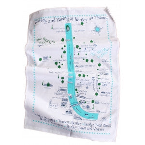 Henley Course tea towel