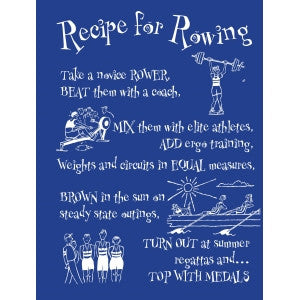 Recipe for Rowing card