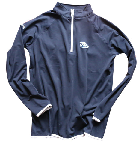 Puddle & Oar 1/2 zip performance jumper