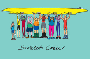 Scratch Crew Greetings Card
