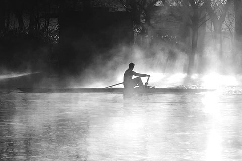 Light Over Water - Sculler