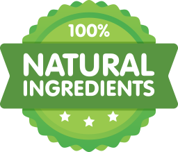 Fit Tea - Natural Ingredients Badge