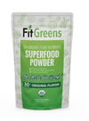 Fit Greens All-in-one Daily Superfoods w/ Free Mixer Bottle - Fit Tea