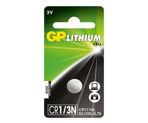 GP CR1/3N Lithium Battery