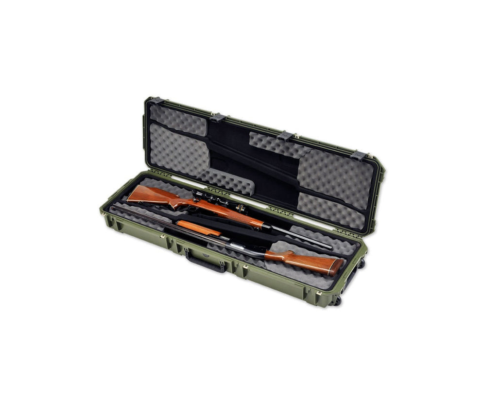 SKB iSeries 5014 Olive Drab Double Rifle Case