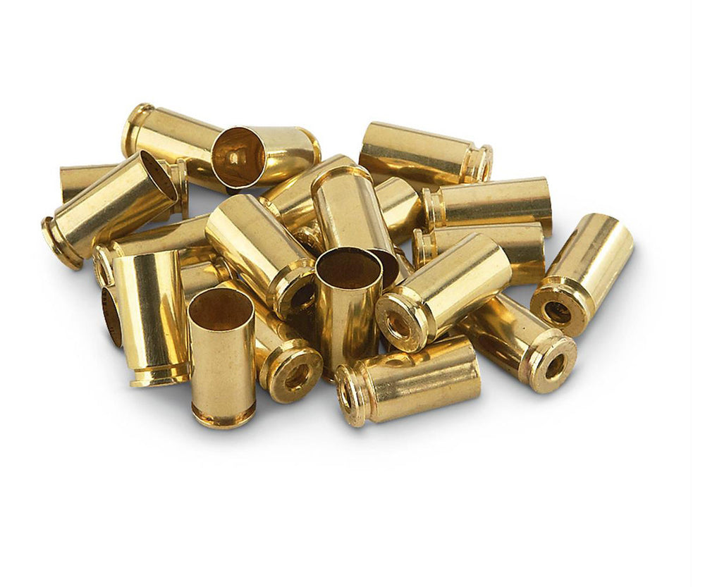 Remington 9mm Luger Unprimed Brass Cases Bulk Pack