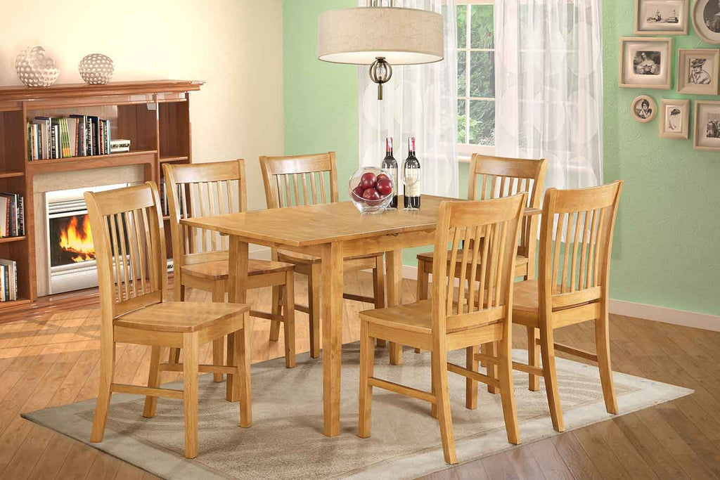 Armstrong Dining Set Oak T T P Furnish Co Ltd