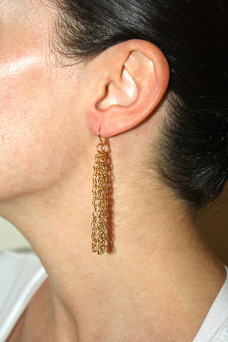 Disco Chain Earring